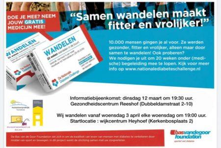 uitnodiging diabetes challenge